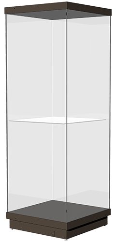 archa promuseum freestanding display case